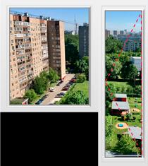 Цена балконного блока