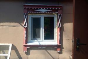 Остекление деревенского домика
